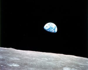 Earth Rise (Courtesy of NASA)